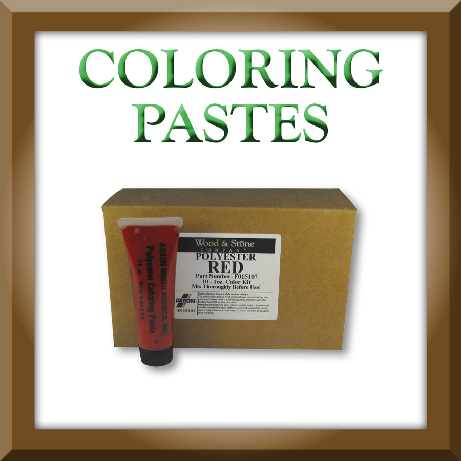 Wood & Stone Polyester Coloring Paste