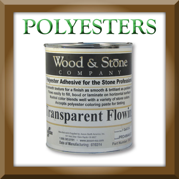 Wood and Stone Polyester Glue